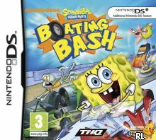 SpongeBob SquarePants - Boating Bash (DSi Enhanced) (E) Box Art