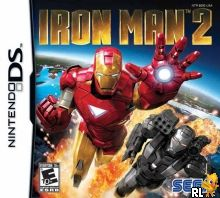 Iron Man 2 (U) Box Art