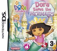 Dora the Explorer - Dora Saves the Mermaids (E) Box Art