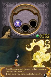 Prince of Persia - The Forgotten Sands (DSi Enhanced) (E) Screen Shot