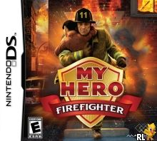 My Hero - Firefighter (U) Box Art
