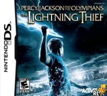 Percy Jackson and the Olympians - The Lightning Thief (U) Box Art