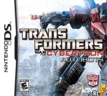 Transformers War for Cybertron - Autobots (U) Box Art