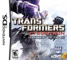 Transformers War for Cybertron - Decepticons (U) Box Art