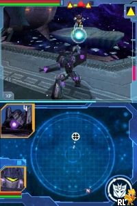 transformers ds rom