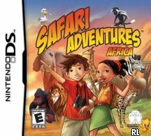 Safari Adventures Africa (Trimmed 127 Mbit) (Intro) (U) Box Art