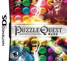 Puzzle Quest 2 (Trimmed 250 Mbit) (Intro) (U)(Venom) Box Art