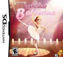Let's Play Ballerina - Sparkle on the Stage (U) Box Art
