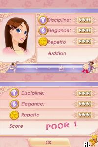 Let's Play Ballerina - Sparkle on the Stage (U) Screen Shot