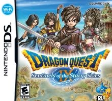 Dragon Quest IX - Sentinels of the Starry Skies (U) Box Art