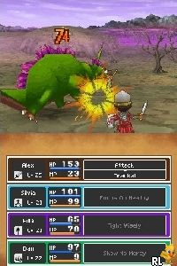 Dragon Quest IX - Sentinels of the Starry Skies (U) Screen Shot