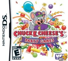 Chuck E. Cheese's Party Games (U) Box Art