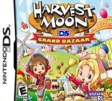 Harvest Moon DS - Grand Bazaar (Trimmed 949 Mbit)(Intro) (U) Box Art