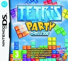Tetris Party Deluxe (Trimmed 124 Mbit)(Intro) (E) Box Art