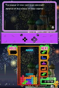 Tetris Party Deluxe (Trimmed 124 Mbit)(Intro) (E) Screen Shot