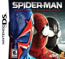 Spider-Man - Shattered Dimensions (U) Box Art