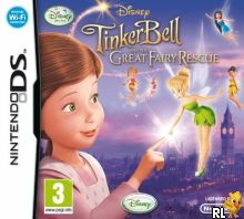 Tinker Bell and the Great Fairy Rescue (E) Box Art