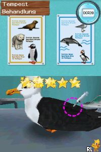 Pet Vet - Marine Patrol (DSi Enhanced) (E) Screen Shot
