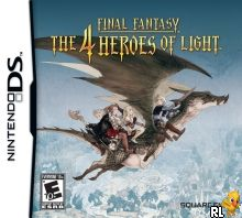 Final Fantasy - The 4 Heroes of Light (U) Box Art