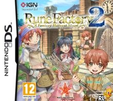 Rune Factory 2 - A Fantasy Harvest Moon (E) Box Art