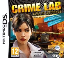 Crime Lab - Body of Evidence (DSi Enhanced) (E) Box Art