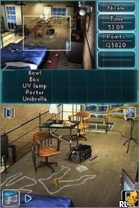 Crime Lab - Body of Evidence (DSi Enhanced) (E) Screen Shot