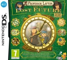 Professor Layton and the Lost Future (E) Box Art