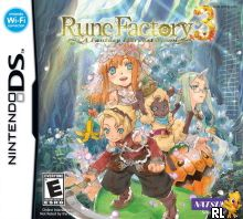 Rune Factory 3 - A Fantasy Harvest Moon (U) Box Art
