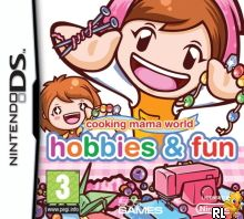 Cooking Mama World - Hobbies & Fun (E) Box Art