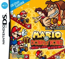 Mario vs. Donkey Kong - Mini-Land Mayhem! (v01)(DSi Enhanced) (U) Box Art