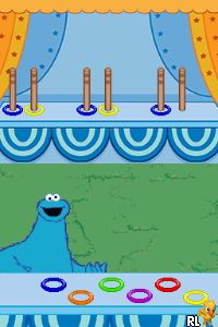 Sesame Street - Cookie's Counting Carnival - The Videogame (A) Screen Shot