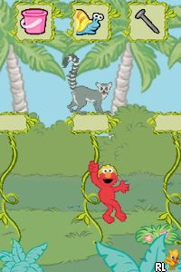 Sesame Street - Elmo's A-to-Zoo Adventure - The Videogame (A) Screen Shot