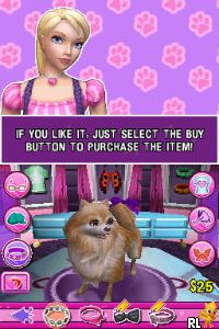 Barbie - Groom and Glam Pups (E) Screen Shot