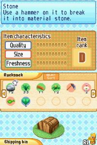 Harvest Moon DS - Sunshine Islands (E) Screen Shot
