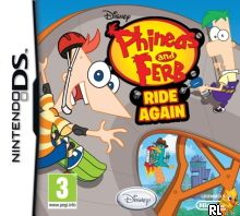 Phineas and Ferb - Ride Again (DSi Enhanced) (E) Box Art