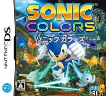 Sonic Colors (J) Box Art