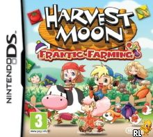 Harvest Moon - Frantic Farming (E) Box Art