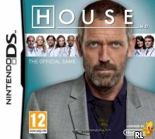 House M.D. - The Official Game (E) Box Art