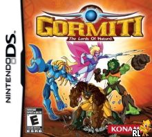 Gormiti - The Lords of Nature (U) Box Art