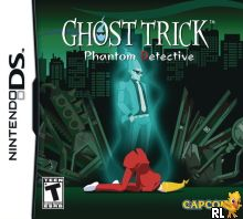 Ghost Trick - Phantom Detective (U) Box Art