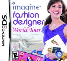 Imagine - Fashion Designer - World Tour (DSi Enhanced) (U) Box Art
