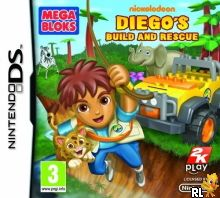Diego's Build and Rescue (E) Box Art
