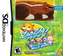 Zhu Zhu Pets 2 - Featuring The Wild Bunch (DSi Enhanced) (U) Box Art