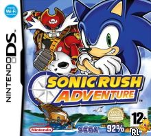 Sonic Rush Adventure (v01) (E) Box Art