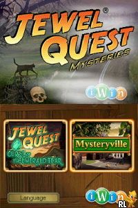 Jewel Quest Mysteries - Two Pack (E) Screen Shot