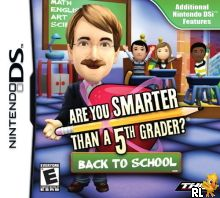 Are You Smarter than a 5th Grader - Back to School (DSi Enhanced) (U) Box Art