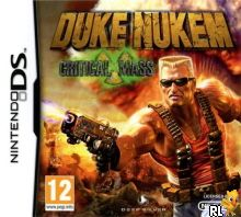 Duke Nukem - Critical Mass (E) Box Art