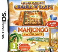 Jewel Master - Cradle of Egypt - Mahjongg - Ancient Egypt (2 Games in 1) (E) Box Art