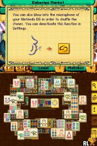 Jewel Master - Cradle of Egypt - Mahjongg - Ancient Egypt (2 Games in 1) (E) Screen Shot