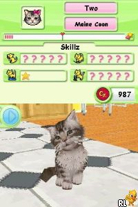 Petz - Catz Playground (U) Screen Shot